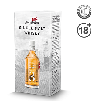 Störtebeker Single Malt Whisky Klassik 3J. 0,5l (Geschenkkarton)